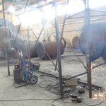 ساخت خط پیرولیز زباله شرکت نیرو گستر رومینا